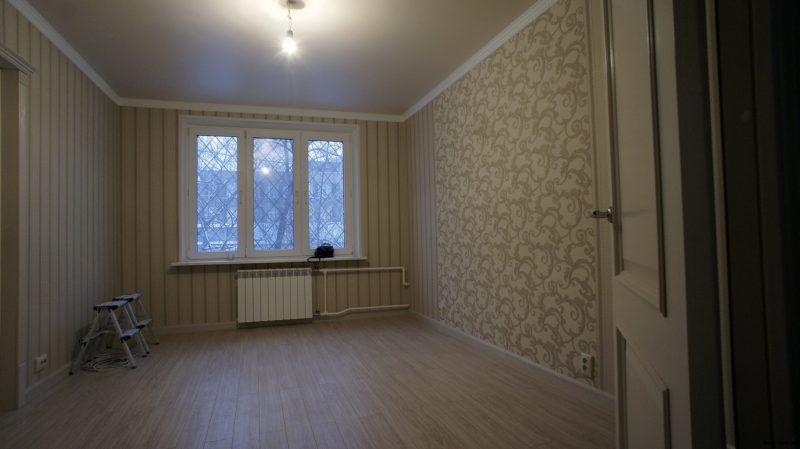 Комната после ремонта
