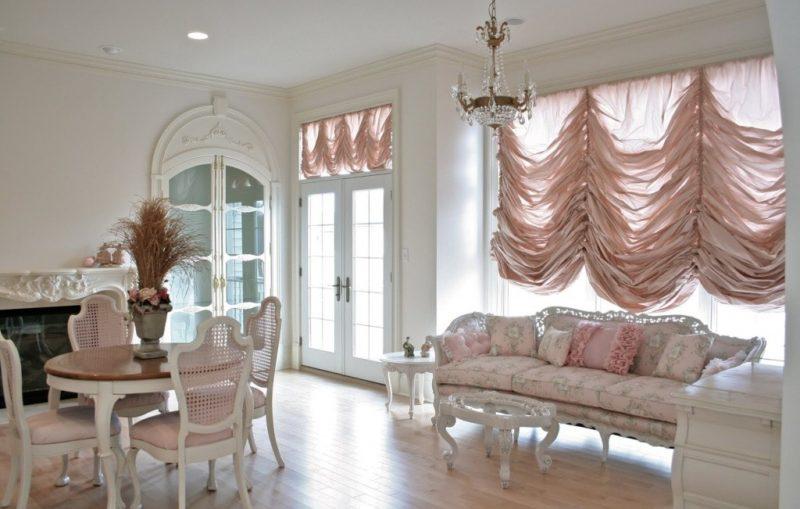 Французские шторы для дома