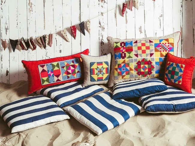 Делаем подушки для декора