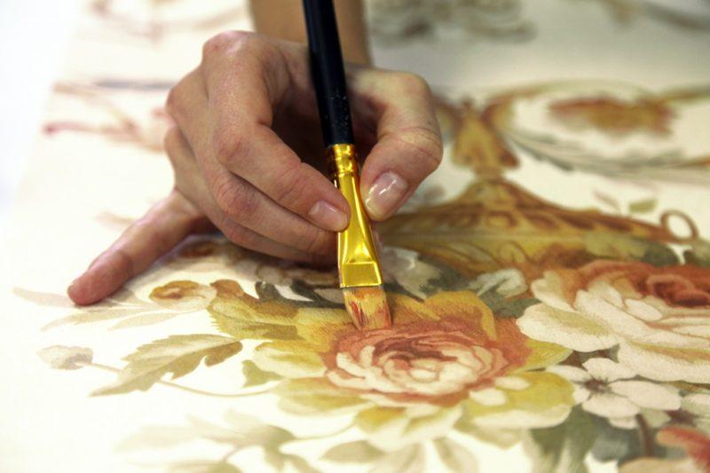 Как нанести рисунок на холст