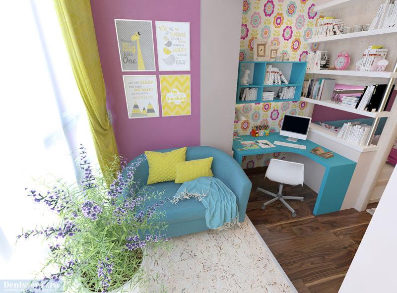 Оформление детской комнаты: расписание
