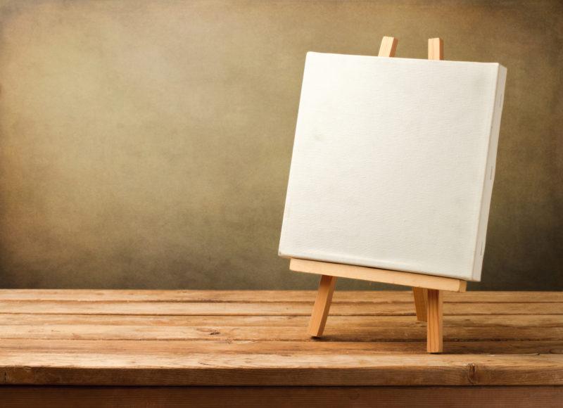 Готовим холст для рисунка
