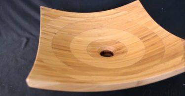 Деревянные раковины на столешницу