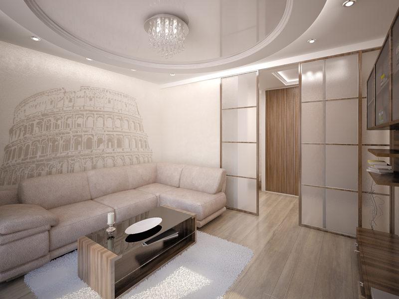 Ремонт в зале: как установить подвесной потолок