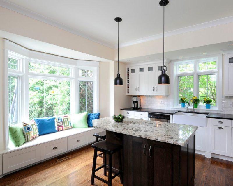 Кухня на даче: оформление пола, стен и потолка