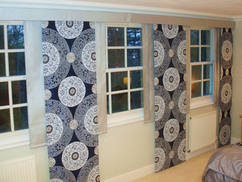 Как выбрать японские шторы