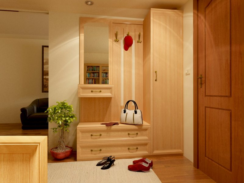 Практичность и выбор мебели для прихожей