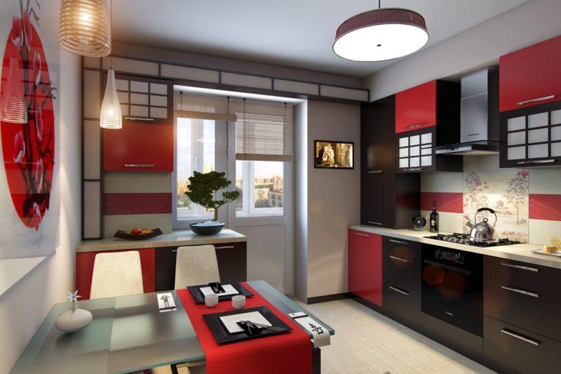 Дизайн кухни в стиле этно