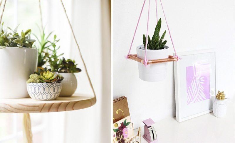 Как сделать полочку для цветов