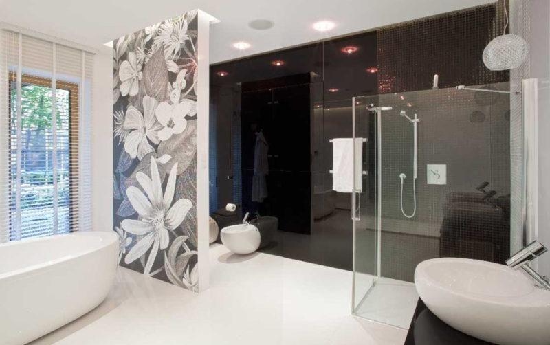 Ванная комната: как красиво оформить потолок
