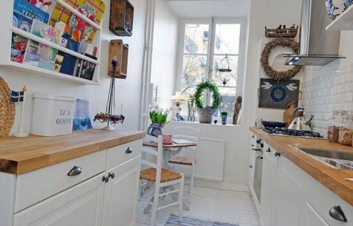 Кухня: дизайн в стиле кантри