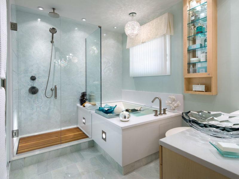 Ванная: как красиво покрасить ванную комнату