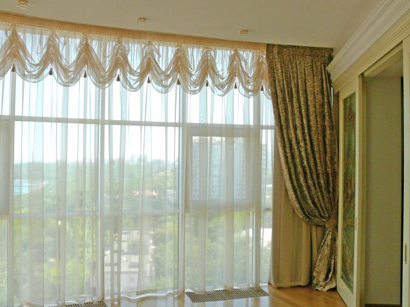 Особенности классических штор