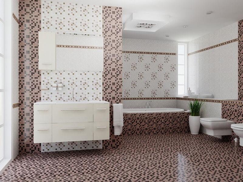 Как оформить пол в ванной