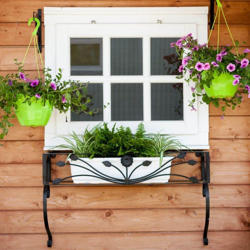 Для сада и дома: полки для цветов