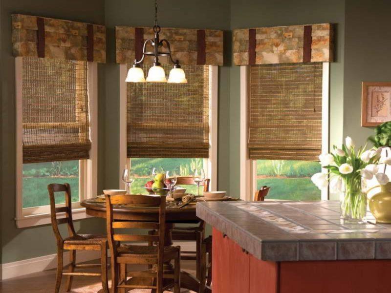 Эркер для кухни: оформление окна