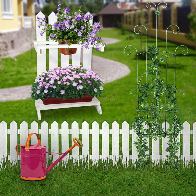 Полки для цветов напольные