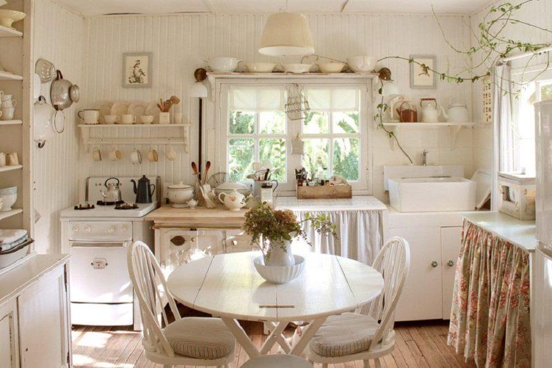 Кухня на дачи: хенд-мейд в декоре интерьера