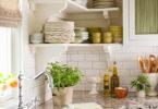 Как красиво оформить кухню