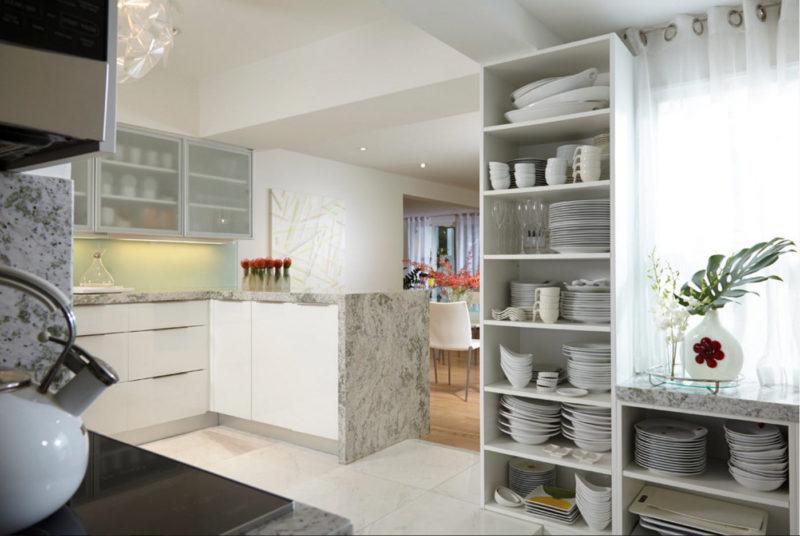 Дизайнерские приемы: посуда в декоре кухни