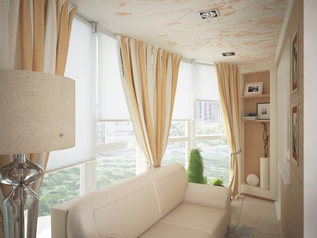 Как выбрать и повесить портьеры на окно