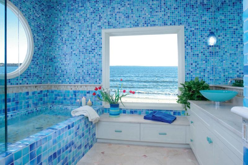 Как красиво декорировать ванную