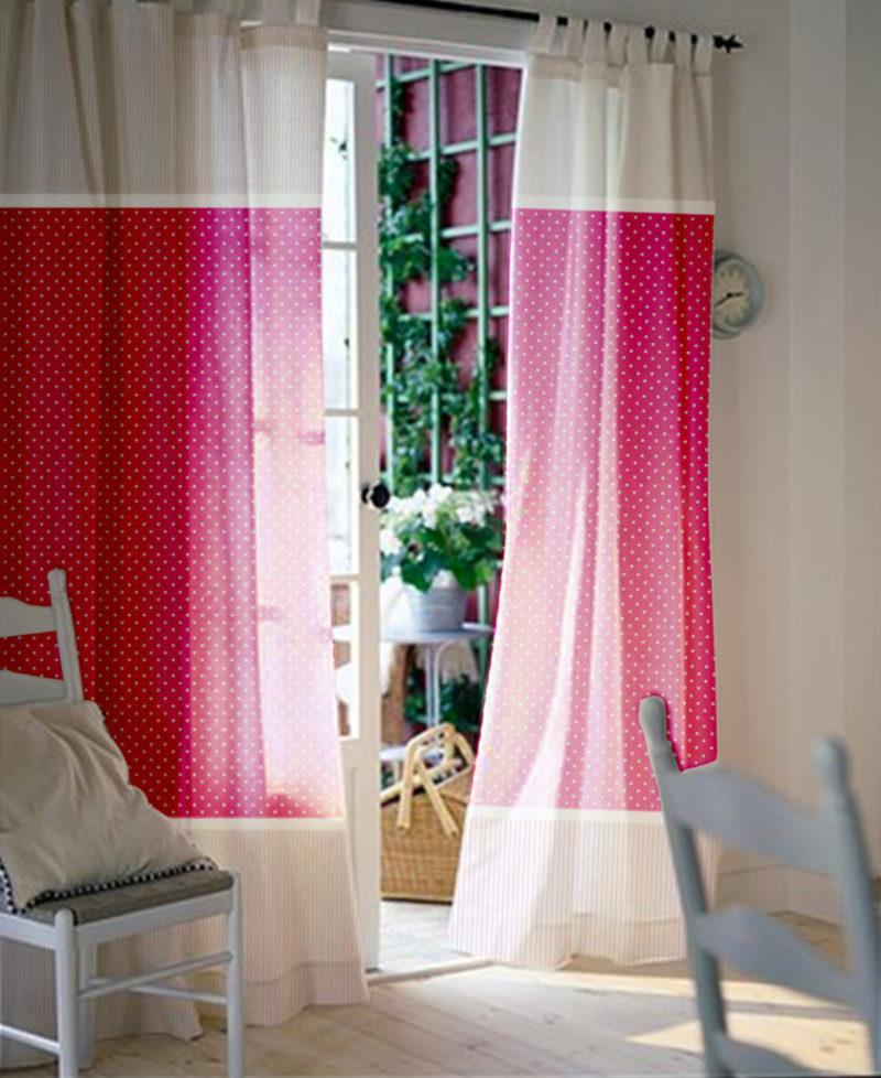 Как выбрать двухцветные шторы в коридор