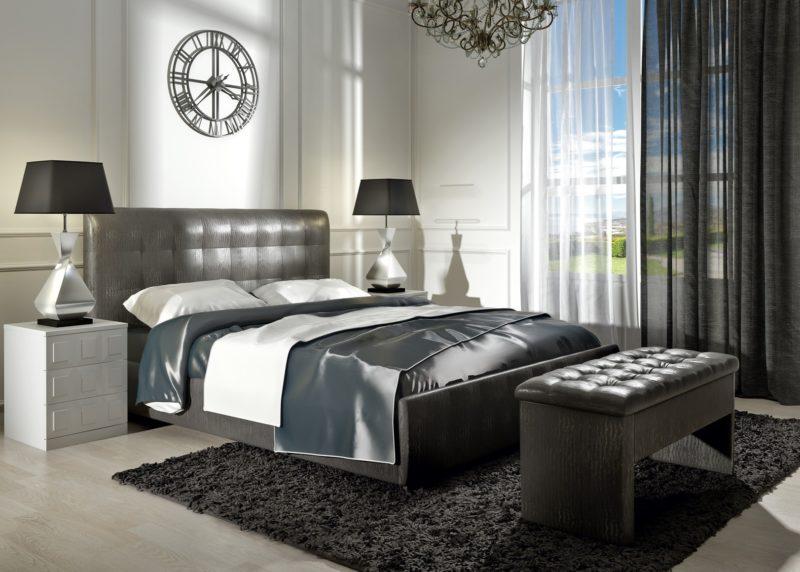 Как отделать спальню текстилем