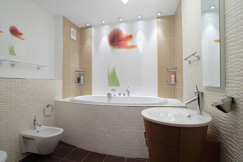 Декор ванной Крючками и полотенцедержателями