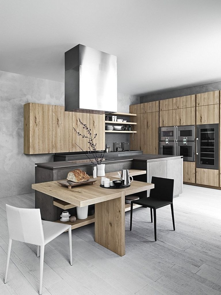 Дизайн кухни: стиль хай-тек