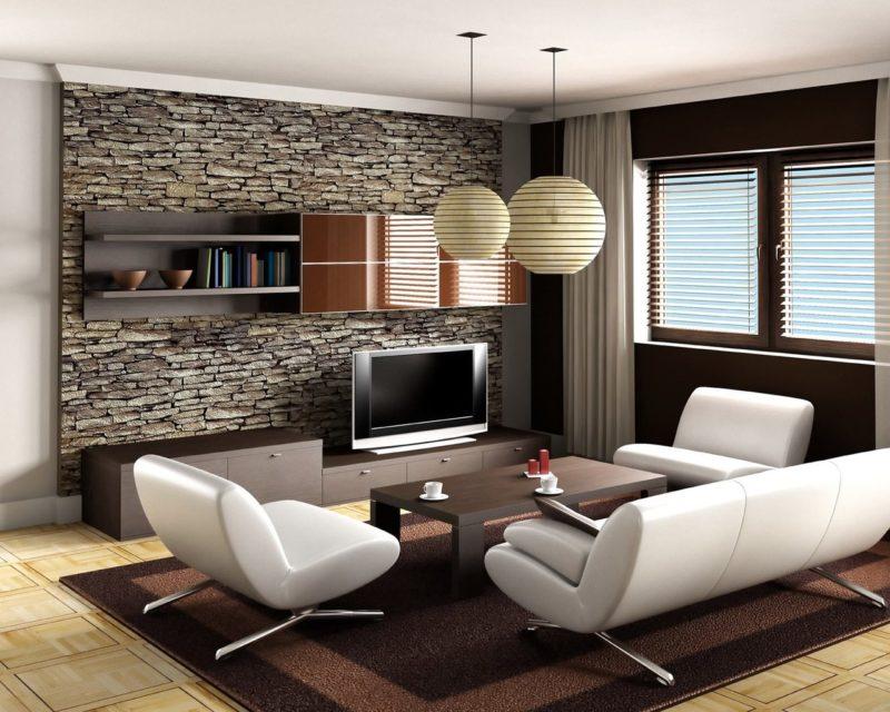 Ремонт гостиной: оригинальные идеи и выбор стиля