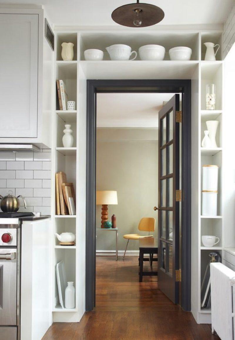 Кухонные полочки: виды и варианты дизайна