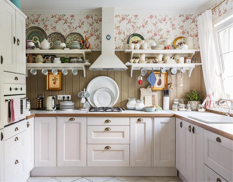 Кухня на даче: правила обустройства в зависимости от площади
