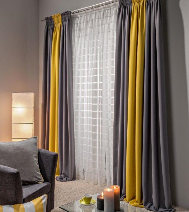 Обработка швов, глажка и правила ухода за двухцветной шторой