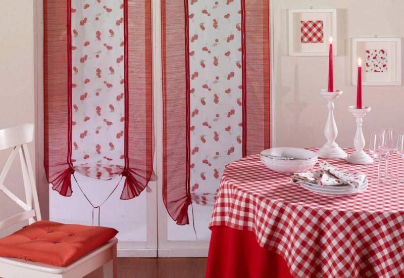 Кухня: оформление текстилем