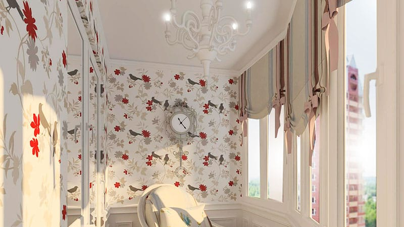 Шторы для балкона: инструкция к пошиву