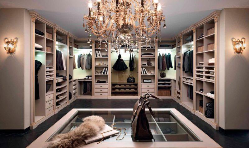Для чего нужна гардеробная комната