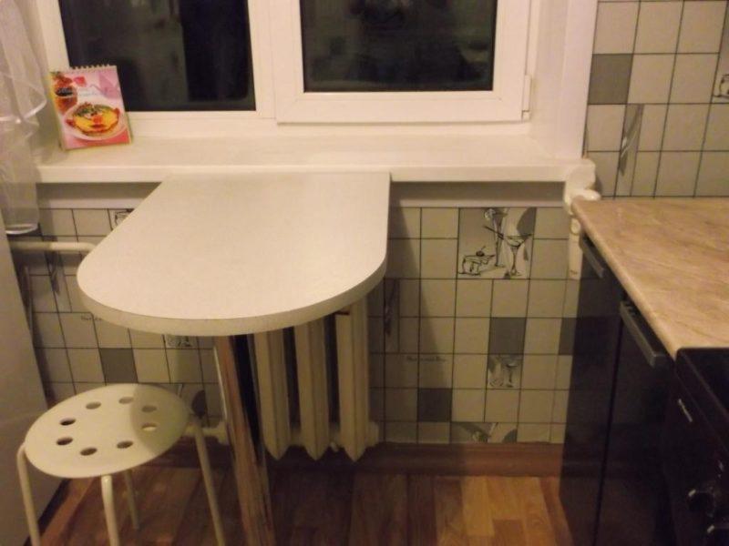 барная стойка на маленькой кухне