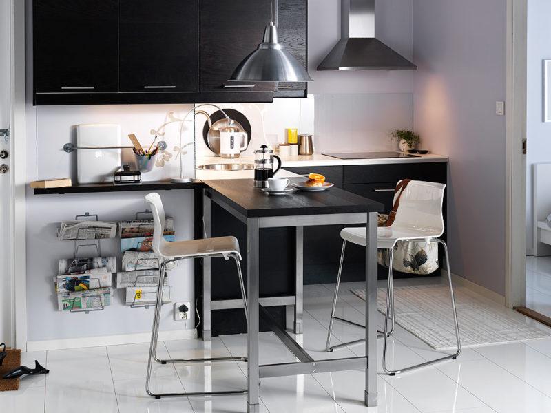 барные стулья для маленькой кухни