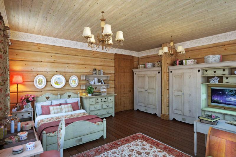 Деревенский дом: дизайн своими руками текстиля