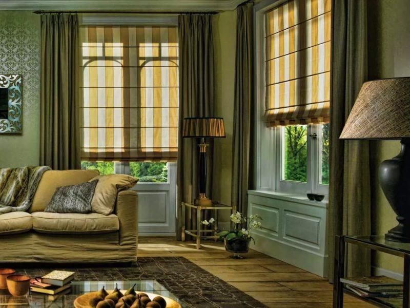 Выбор штор в зависимости от цвета