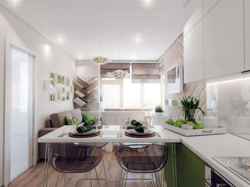 Как установить осветительные приборы на кухню