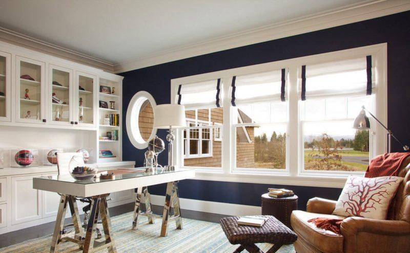 Какие выбрать шторы для маленького помещения