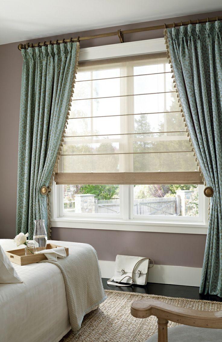 Как пошить классические шторы самому