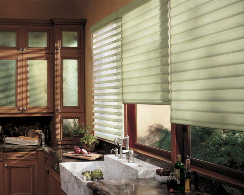 Ролл-шторы на кухню