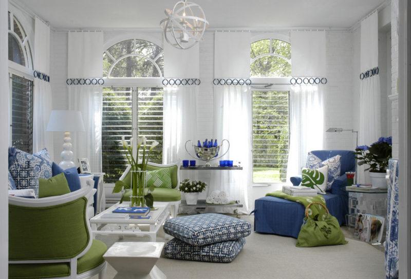 Какие выбрать шторы на скошенные окна