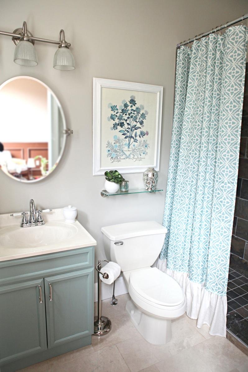 Выбор краски для стен в ванной комнате