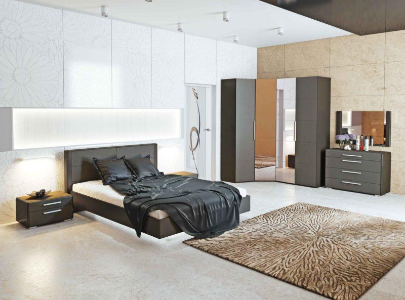 Дизайн потолка: клеевый