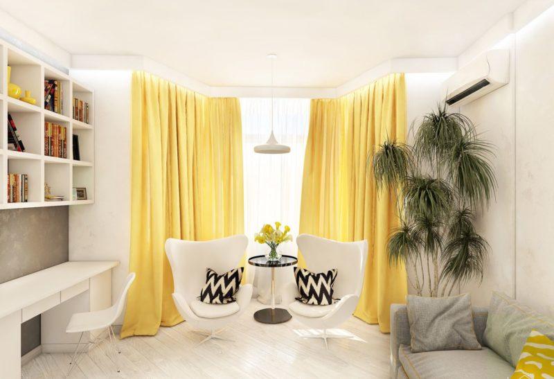 Пример: расчет ткани для шторы