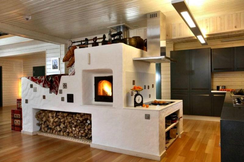Дизайн деревенского дома в русском стиле